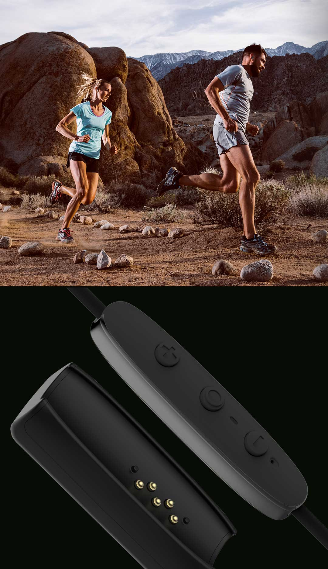 Jaybird RUN True Wireless Waterproof Background