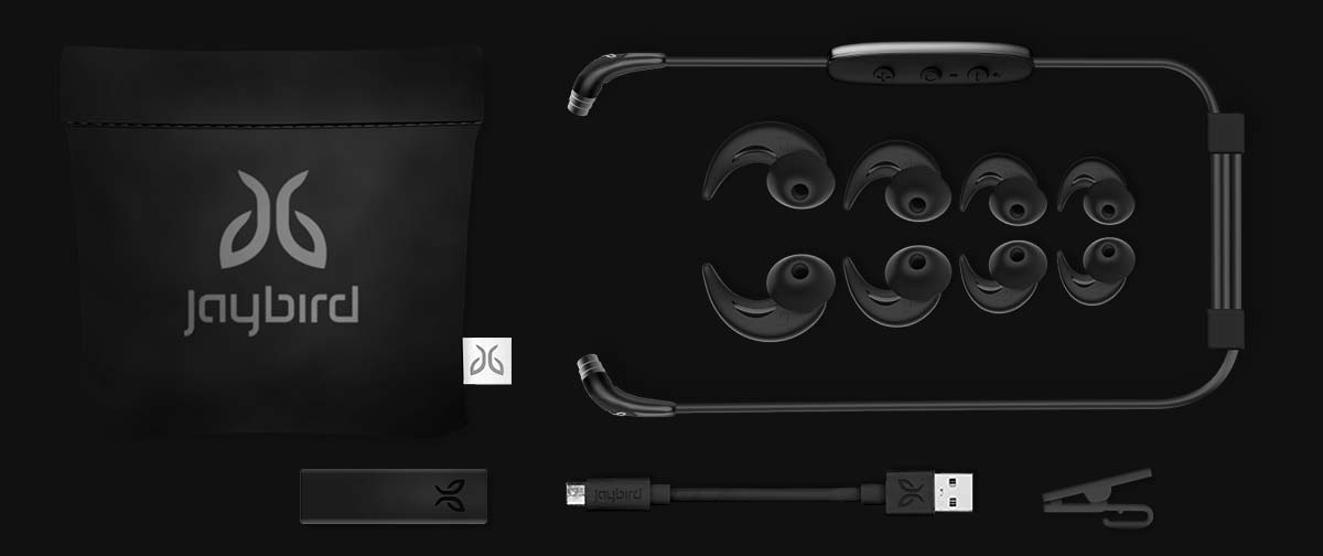 Jaybird X3 Bluetooth Earbuds In The Box