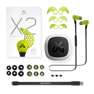 Jaybird X2 Bluetooth Earbuds Charge 4
